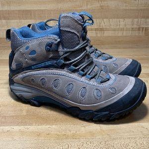 Merrell Chameleon Arc 2 Mid WP Brindle Denim Boots